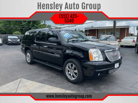 2008 GMC Yukon XL for sale at Hensley Auto Group in Middletown OH