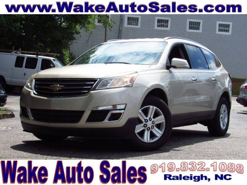 2014 Chevrolet Traverse for sale at Wake Auto Sales Inc in Raleigh NC