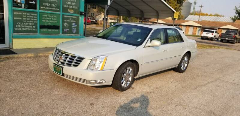 2010 Cadillac DTS for sale at Stewart Auto Sales Inc in Central City NE