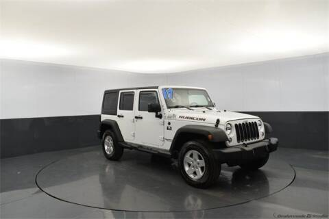 2017 Jeep Wrangler Unlimited for sale at Tim Short Auto Mall in Corbin KY