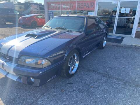 1991 Ford Mustang for sale at Modern Classics Car Lot in Westland MI