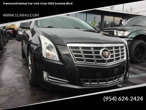2014 Cadillac XTS for sale at Transcontinental Car in Fort Lauderdale FL