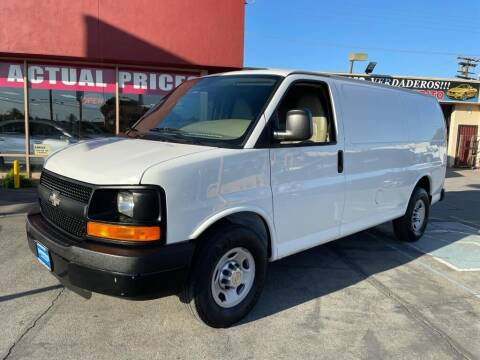 2014 Chevrolet Express Cargo for sale at Sanmiguel Motors in South Gate CA