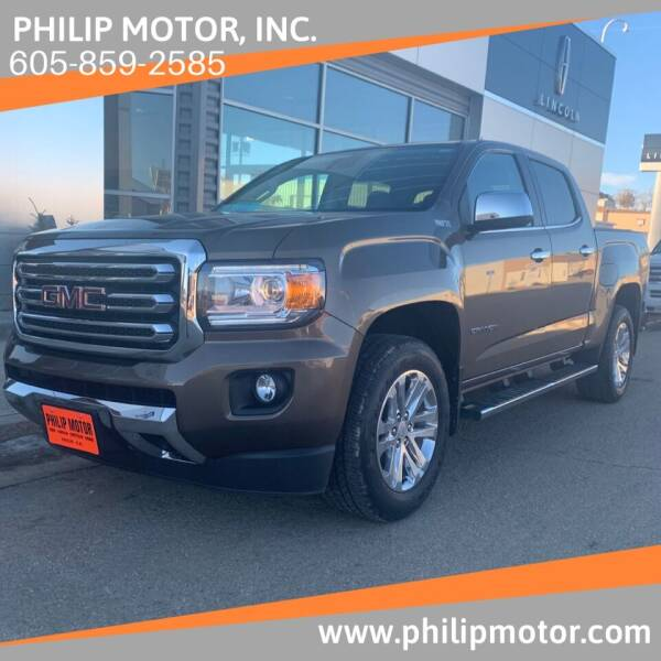 2015 GMC Canyon for sale at Philip Motor Inc in Philip SD
