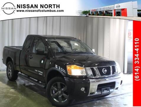 2015 Nissan Titan for sale at Auto Center of Columbus in Columbus OH