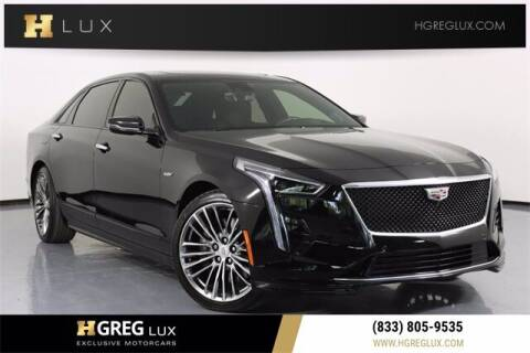 2020 Cadillac CT6-V for sale at HGREG LUX EXCLUSIVE MOTORCARS in Pompano Beach FL