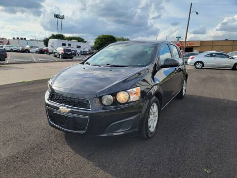 2014 Chevrolet Sonic for sale at Image Auto Sales in Dallas TX
