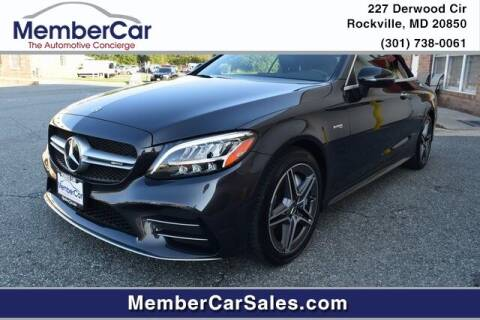 2019 Mercedes-Benz C-Class for sale at MemberCar in Rockville MD