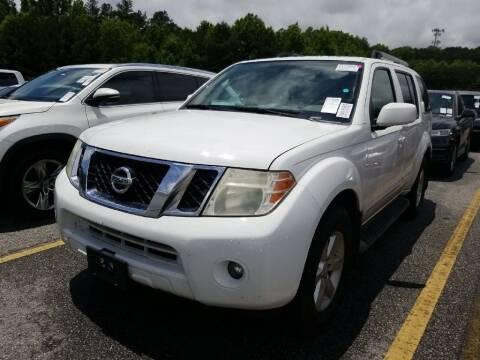 2010 Nissan Pathfinder for sale at Fletcher Auto Sales in Augusta GA