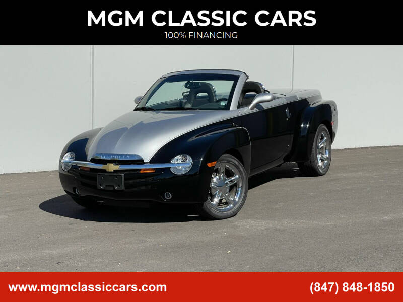 2006 Chevrolet SSR for sale at MGM CLASSIC CARS in Addison IL