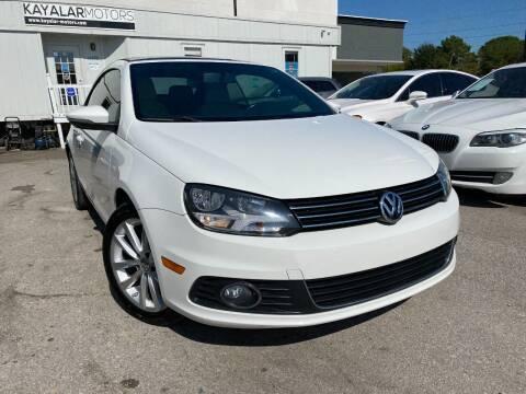 2012 Volkswagen Eos for sale at KAYALAR MOTORS in Houston TX