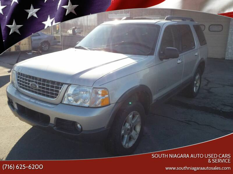 2005 Ford Explorer for sale at South Niagara Auto Used Cars & Service in Lockport NY