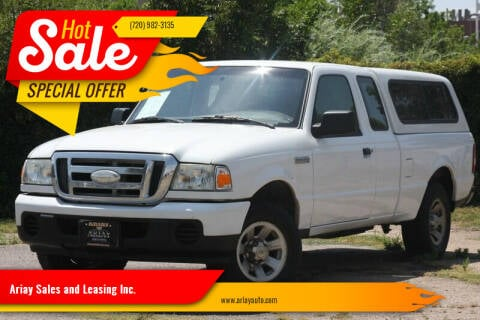 2009 Ford Ranger for sale at Ariay Sales and Leasing Inc. - Pre Owned Storage Lot in Glendale CO