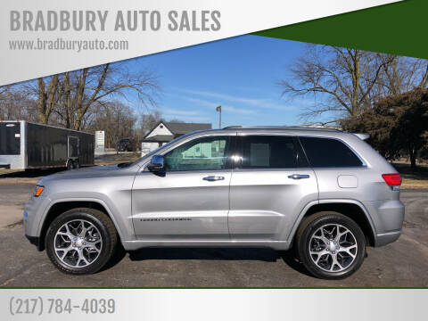 2020 Jeep Grand Cherokee for sale at BRADBURY AUTO SALES in Gibson City IL