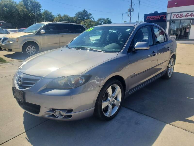 2004 Mazda MAZDA3 for sale at Quallys Auto Sales in Olathe KS