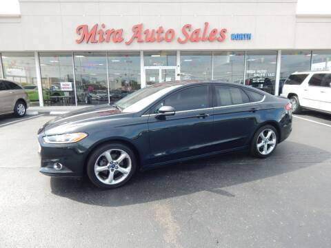 2014 Ford Fusion for sale at Mira Auto Sales in Dayton OH