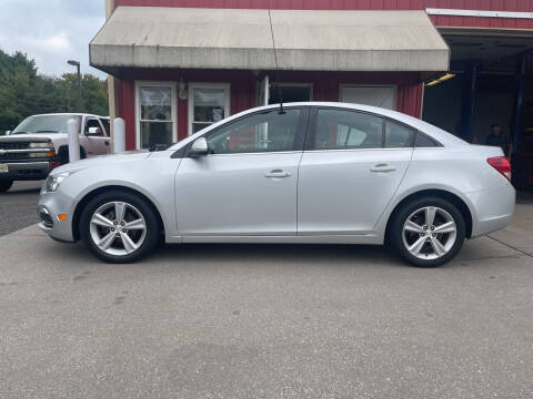 2015 Chevrolet Cruze for sale at JWP Auto Sales,LLC in Maple Shade NJ