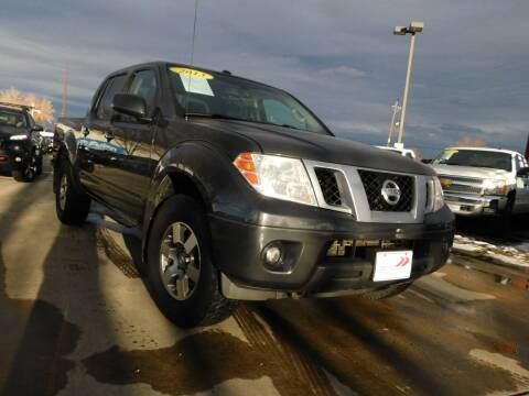 2013 Nissan Frontier for sale at AP Auto Brokers in Longmont CO