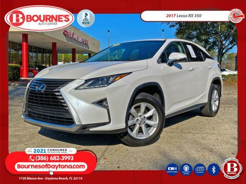 2017 Lexus RX 350 for sale at Bourne's Auto Center in Daytona Beach FL