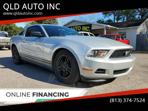 2012 Ford Mustang for sale at QLD AUTO INC in Tampa FL