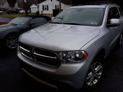 2012 Dodge Durango for sale at GALANTE AUTO SALES LLC in Aston PA