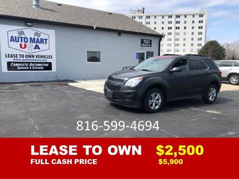 2014 Chevrolet Equinox for sale at Auto Mart USA -Lease To Own in Kansas City MO