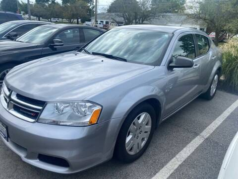 2013 Dodge Avenger for sale at Coast to Coast Imports in Fishers IN