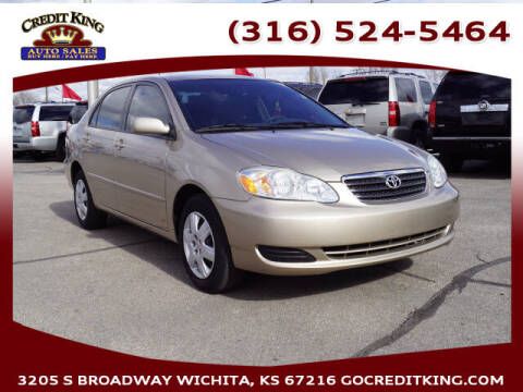 2006 Toyota Corolla for sale at Credit King Auto Sales in Wichita KS