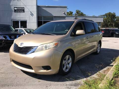 2011 Toyota Sienna for sale at Popular Imports Auto Sales in Gainesville FL