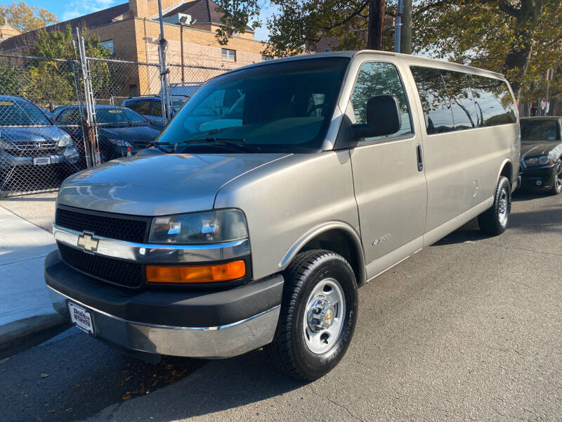 2003 Chevrolet Express Passenger for sale at DEALS ON WHEELS in Newark NJ