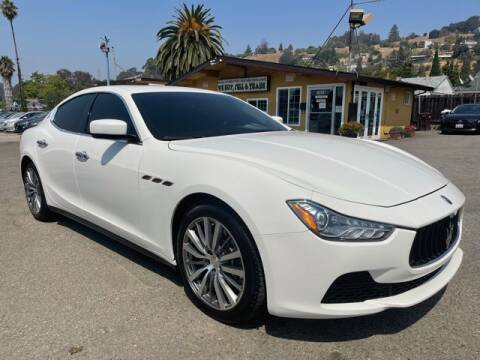2015 Maserati Ghibli for sale at MISSION AUTOS in Hayward CA