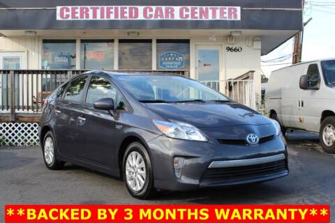 2013 Toyota Prius Plug-in Hybrid for sale at CERTIFIED CAR CENTER in Fairfax VA