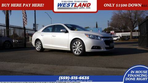 2016 Chevrolet Malibu Limited for sale at Westland Auto Sales on 7th in Fresno CA