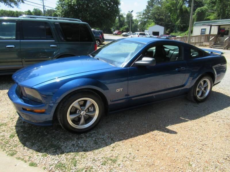 2006 Ford Mustang for sale at Dallas Auto Mart in Dallas GA