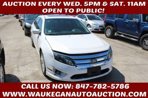 2010 Ford Fusion Hybrid for sale at Waukegan Auto Auction in Waukegan IL
