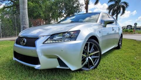 2013 Lexus GS 350 for sale at POLLO AUTO SOLUTIONS in Miami FL