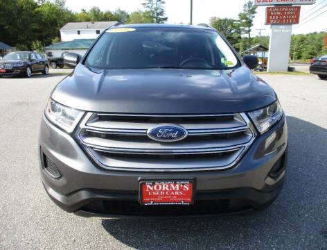 2015 Ford Edge for sale at Norm's Used Cars INC. - Trucks By Norm's in Wiscasset ME
