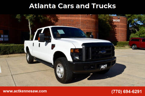 2008 Ford F-250 Super Duty for sale at Atlanta Cars and Trucks in Kennesaw GA