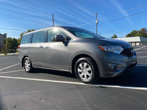 2014 Nissan Quest for sale at GTO United Auto Sales LLC in Lawrenceville GA