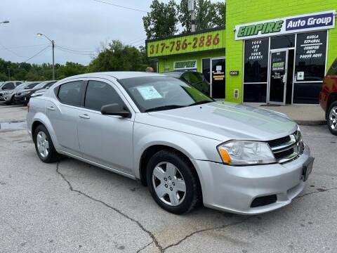 2012 Dodge Avenger for sale at Empire Auto Group in Indianapolis IN