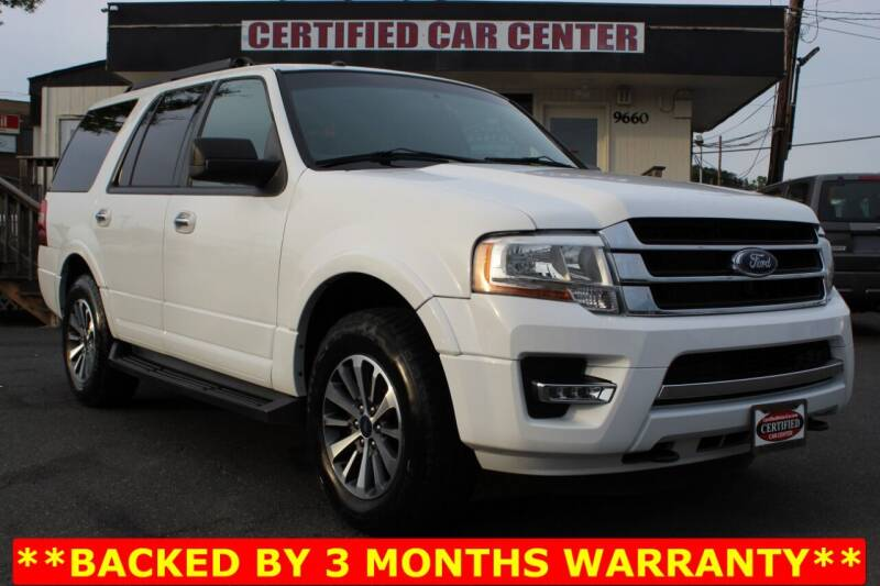 2017 Ford Expedition for sale at CERTIFIED CAR CENTER in Fairfax VA