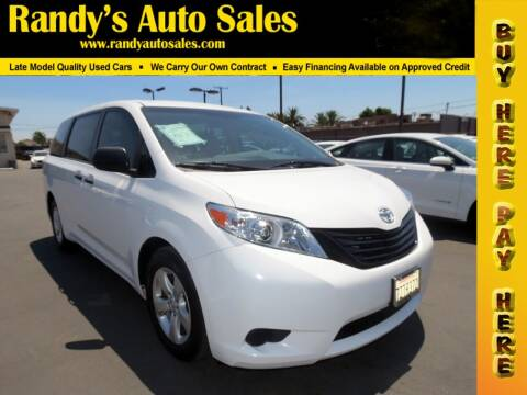 2017 Toyota Sienna for sale at Randy's Auto Sales in Ontario CA