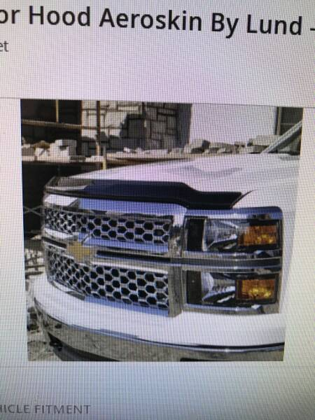 GMC HOOD DEFLECTOR for sale at Tyndall Motors - Clearance in Tyndall SD