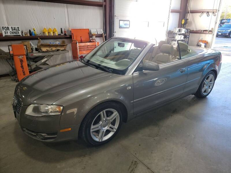 2007 Audi A4 for sale at Hometown Automotive Service & Sales in Holliston MA