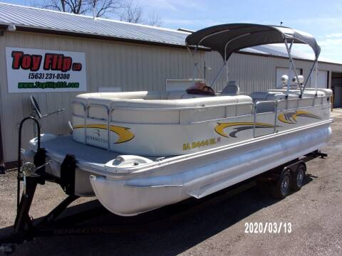 2006 Bennington 2550 RL TriToon for sale at Toy Flip LLC in Cascade IA