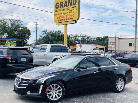 2014 Cadillac CTS for sale at Grand Auto Sales in Tampa FL
