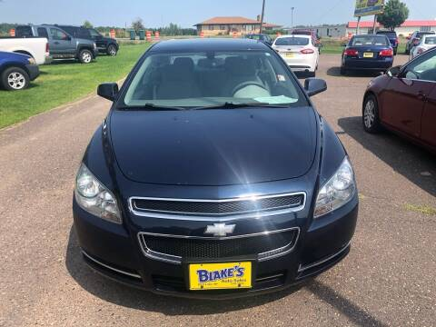 2009 Chevrolet Malibu for sale at Blakes Auto Sales in Rice Lake WI