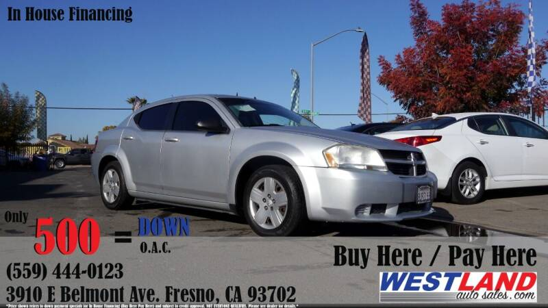 2009 Dodge Avenger for sale at Westland Auto Sales in Fresno CA