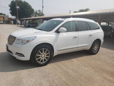 2016 Buick Enclave for sale at Faw Motor Co in Cambridge NE