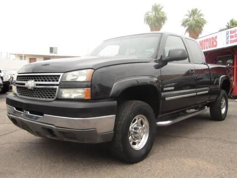 2005 Chevrolet Silverado 2500HD for sale at Van Buren Motors in Phoenix AZ
